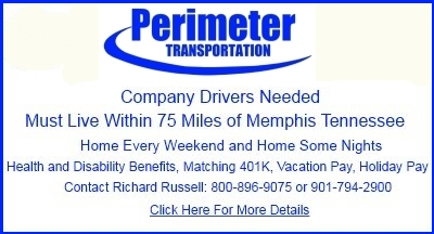 Truck Driver Jobs Available Memphis Tennessee Perimeter Transportation